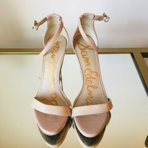 Sam Edelman Nude Stappy Sandals 6